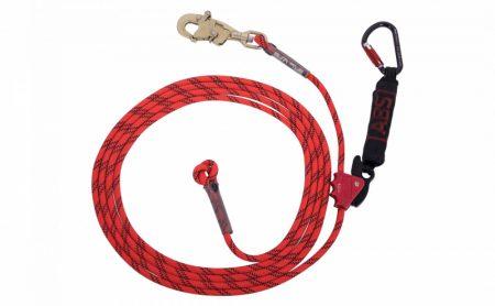 ABS Lanyard-Guided type fall arrester-kikötő kötél munkahossz beállítóval (23m)